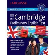 Cambridge Preliminary English Test. English is easy with Larousse, 14-15 ani