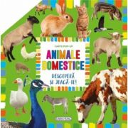 Descopera si joaca-te. Animale domestice. Carte Pop-up
