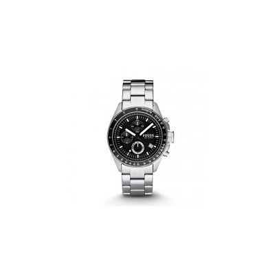 Fossil - Decker Chronograph Stainless Steel Watch