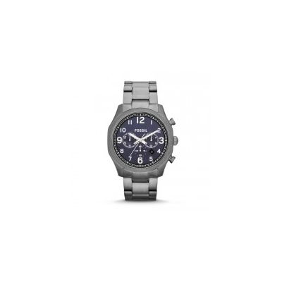 Fossil - Foreman Chronograph Stainless Steel Watch - Smoke
