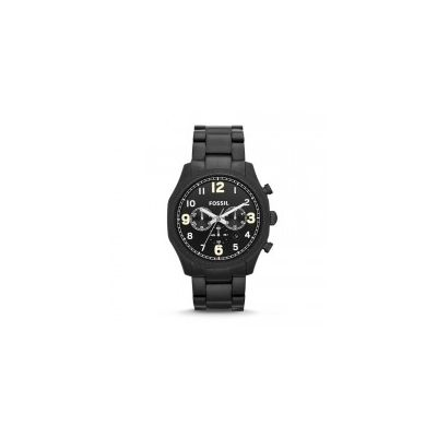 Fossil - Foreman Chronograph Stainless Steel Watch - Black