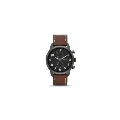 Fossil - Townsman Chronograph Leather Watch - Brown
