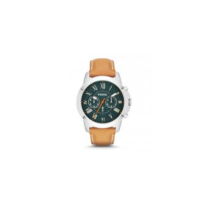 Fossil - Grant Chronograph Leather Watch - Tan