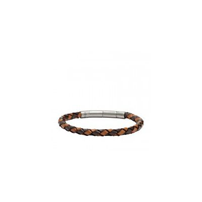 Fossil - Braided Bracelet - Brown
