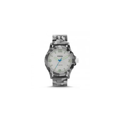 Fossil - Nate Three-Hand Resin Watch – Grey Camo