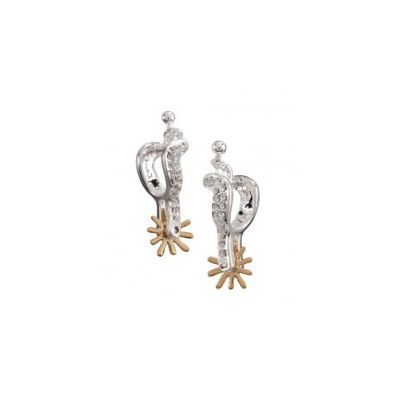 Montana Silversmiths Sparkly Spur Earrings