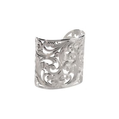 Montana Silversmiths Swirling Floral Cuff Bracelet
