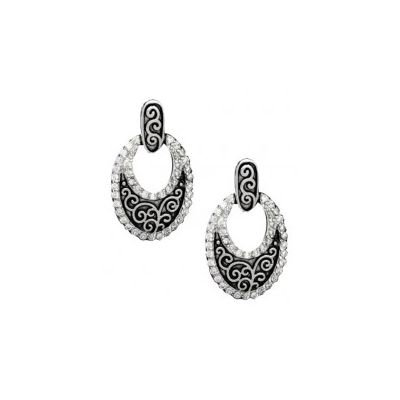 Montana Silversmiths Filigree Oval Earrings