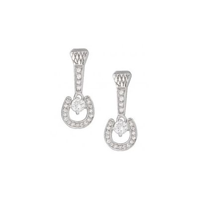 Montana Silversmiths Horseshoe Nail Earrings