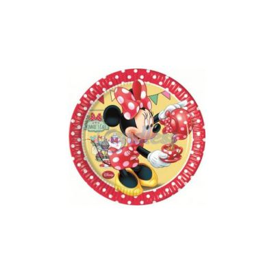 Set 8 farfurii Minnie Cafe 20 cm