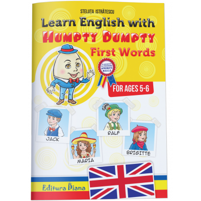 Learn English with Humpty Dumpty. First words