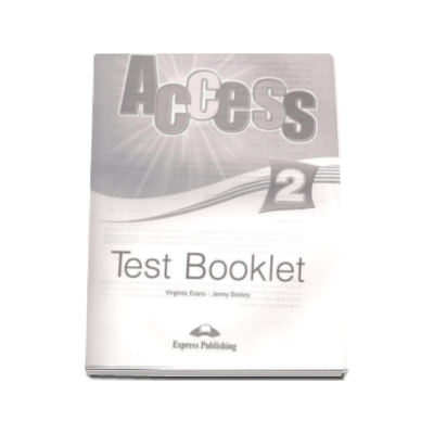 Access 2 Elementary (A2) Test Booklet