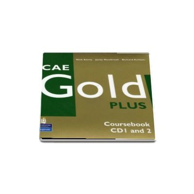 CAE Gold Plus Coursebook CD 1 and 2