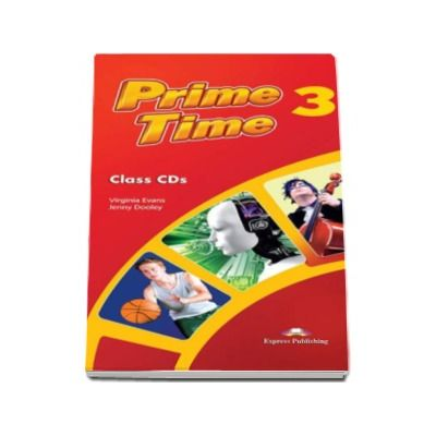 Prime Time 3, class CDs (5 CD)
