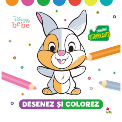 Disney Bebe. Desenez si colorez